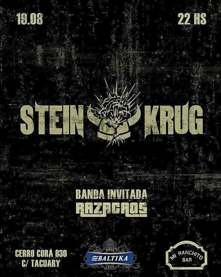 Steinkrug en Concierto en Mi Ranchito Rock