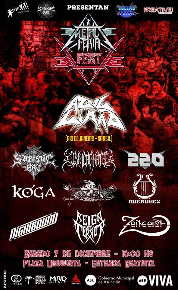 Metal Feria Fest - 5ta. Edicion - Afiche Oficial